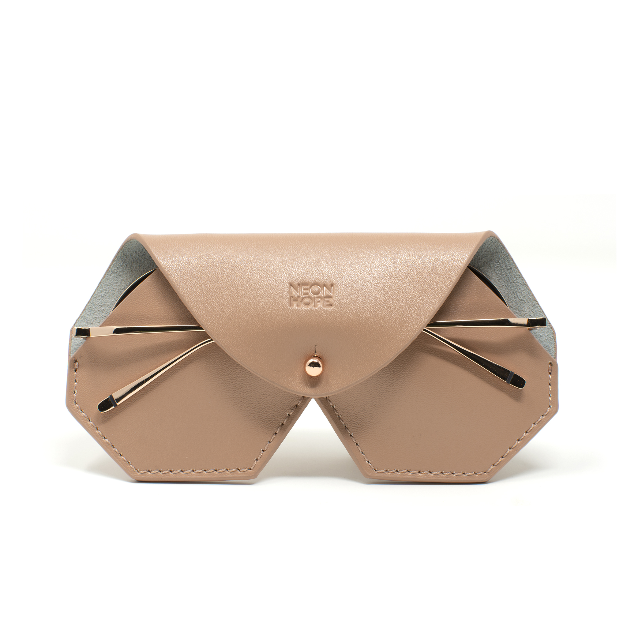 Sulis - Gunmetal Grey / Rose Gold (limited edition) by Neon Hope on curated-crowd.com