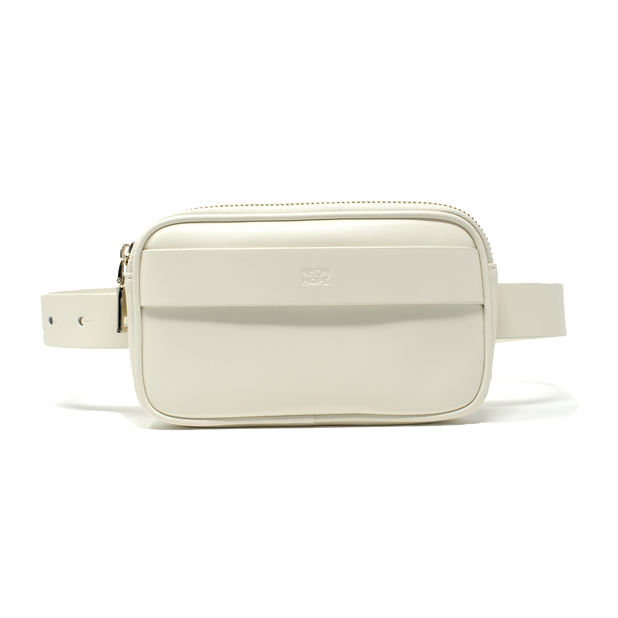 Bumbag - White by Neon Hope on curated-crowd.com