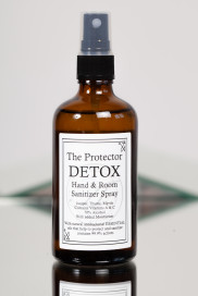 The Protector – DETOX - Hand & Room Sanitizer Spray – 100ml by The Perfumer's Story by Azzi on curated-crowd.com