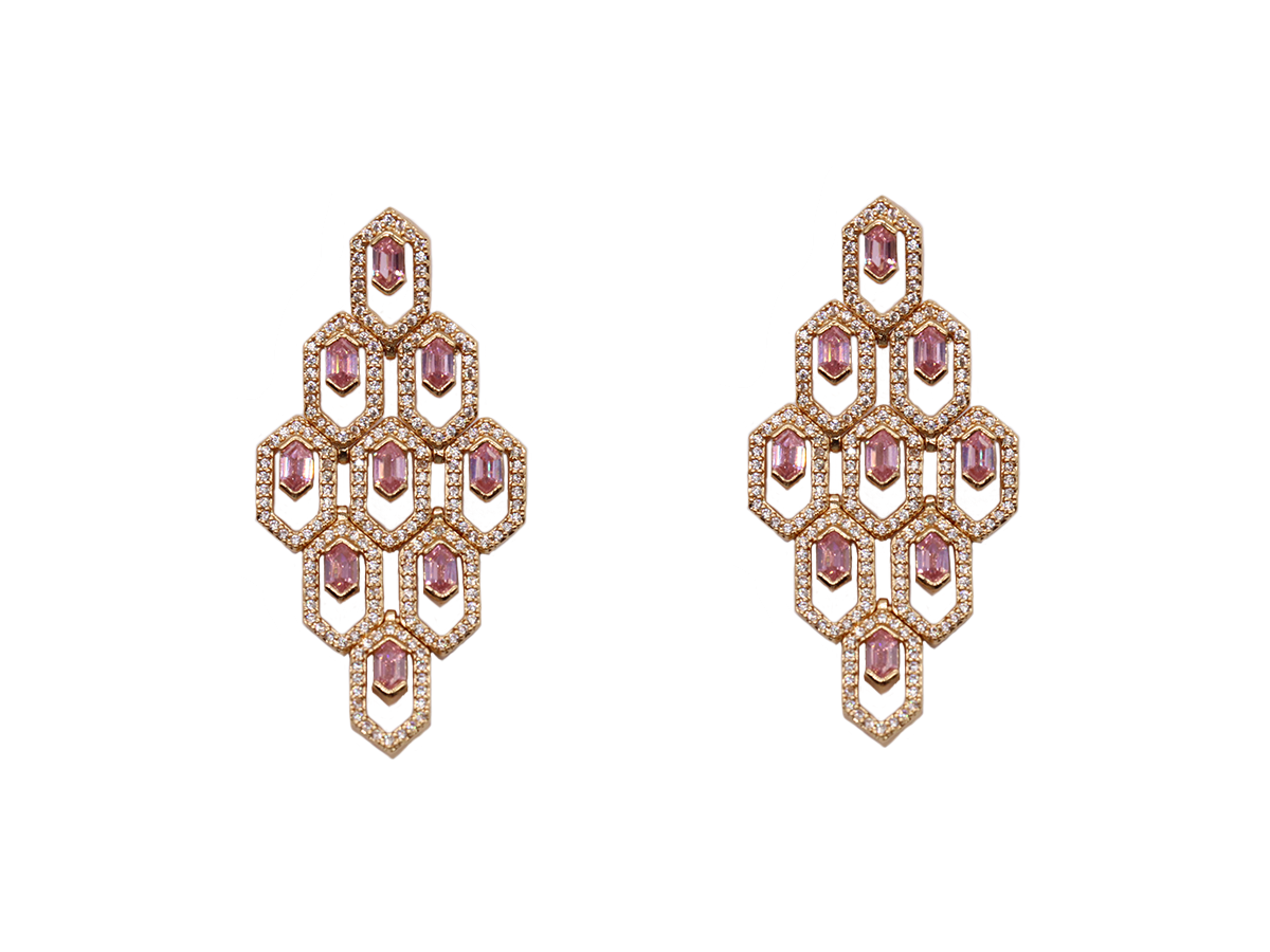 Aurelia Earrings by Lalou London on curated-crowd.com