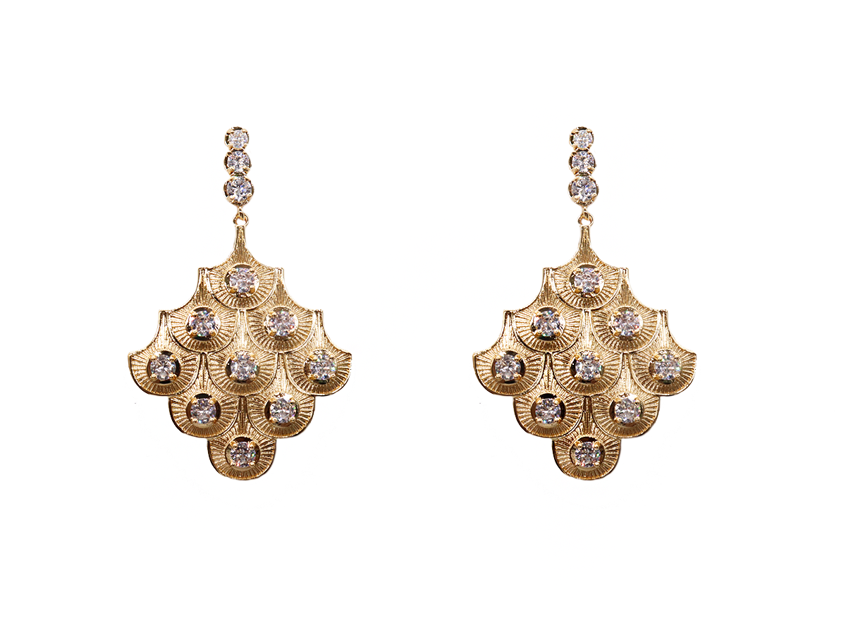 Sparrow Earrings by Lalou London on curated-crowd.com