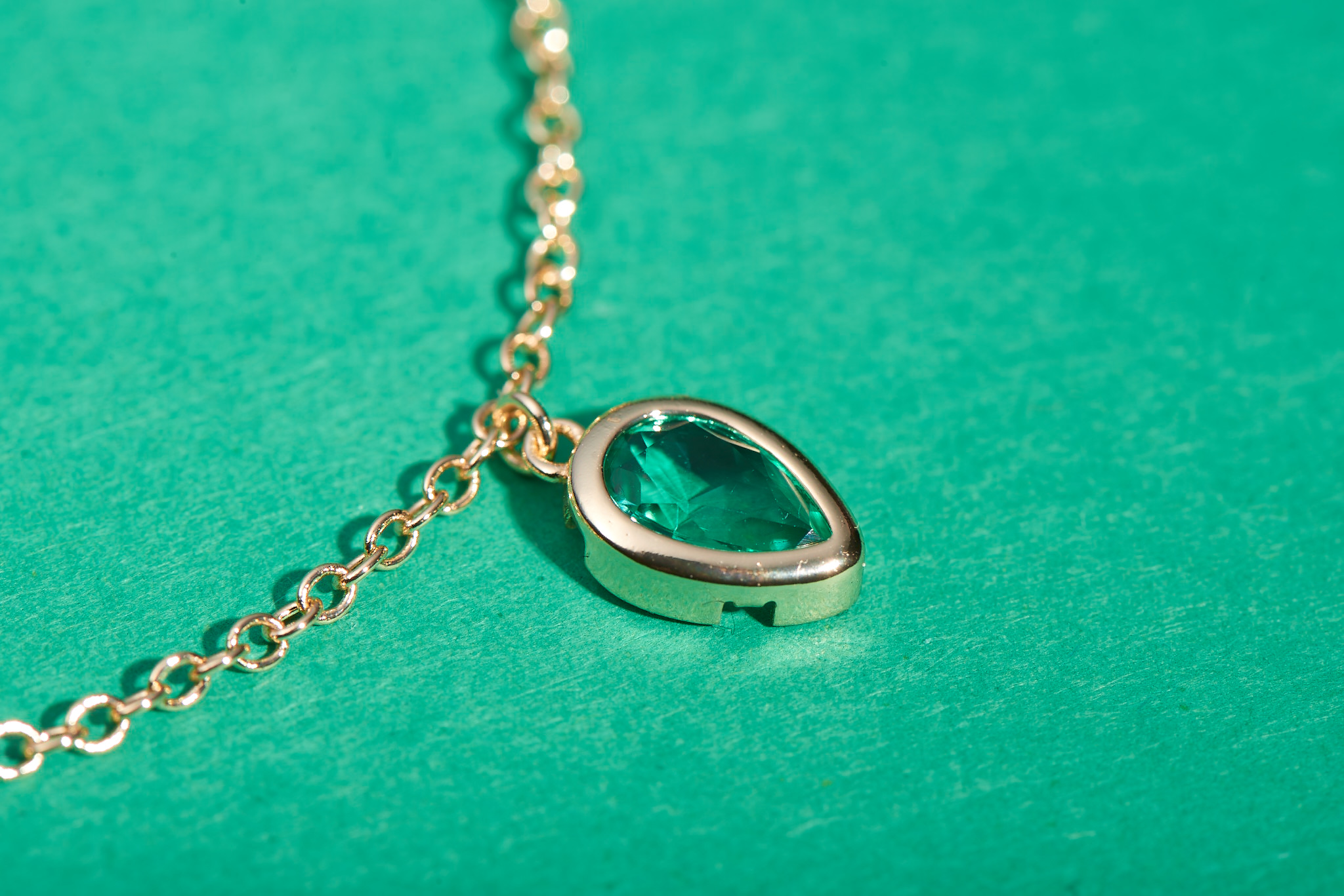 Raindrop Necklace by Lalou London on curated-crowd.com