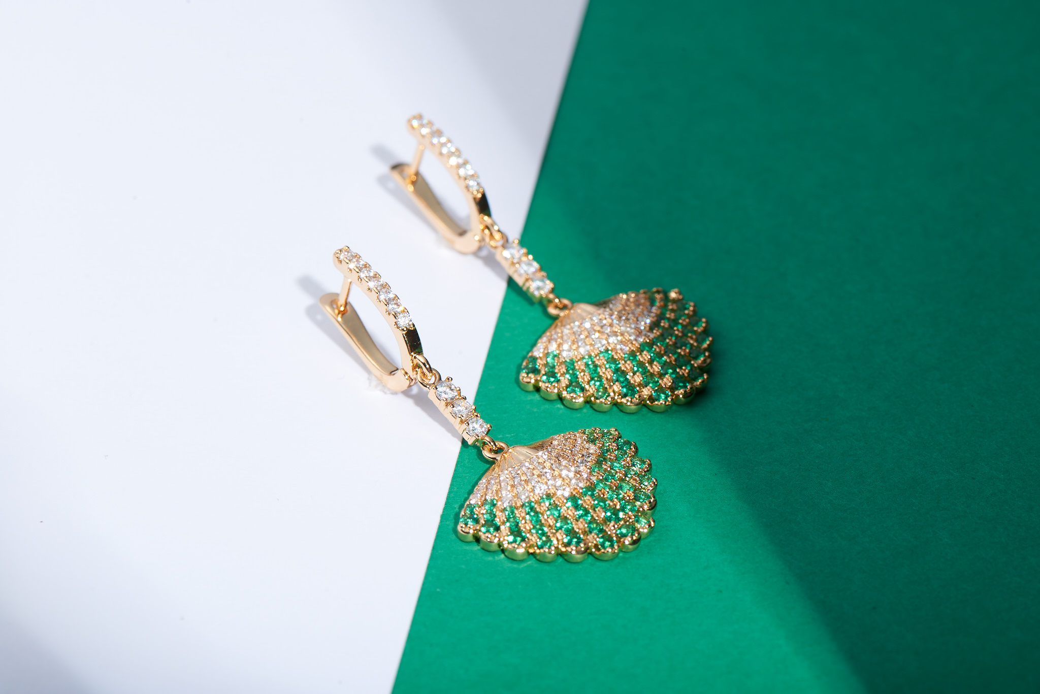 Sienna Earrings by Lalou London on curated-crowd.com