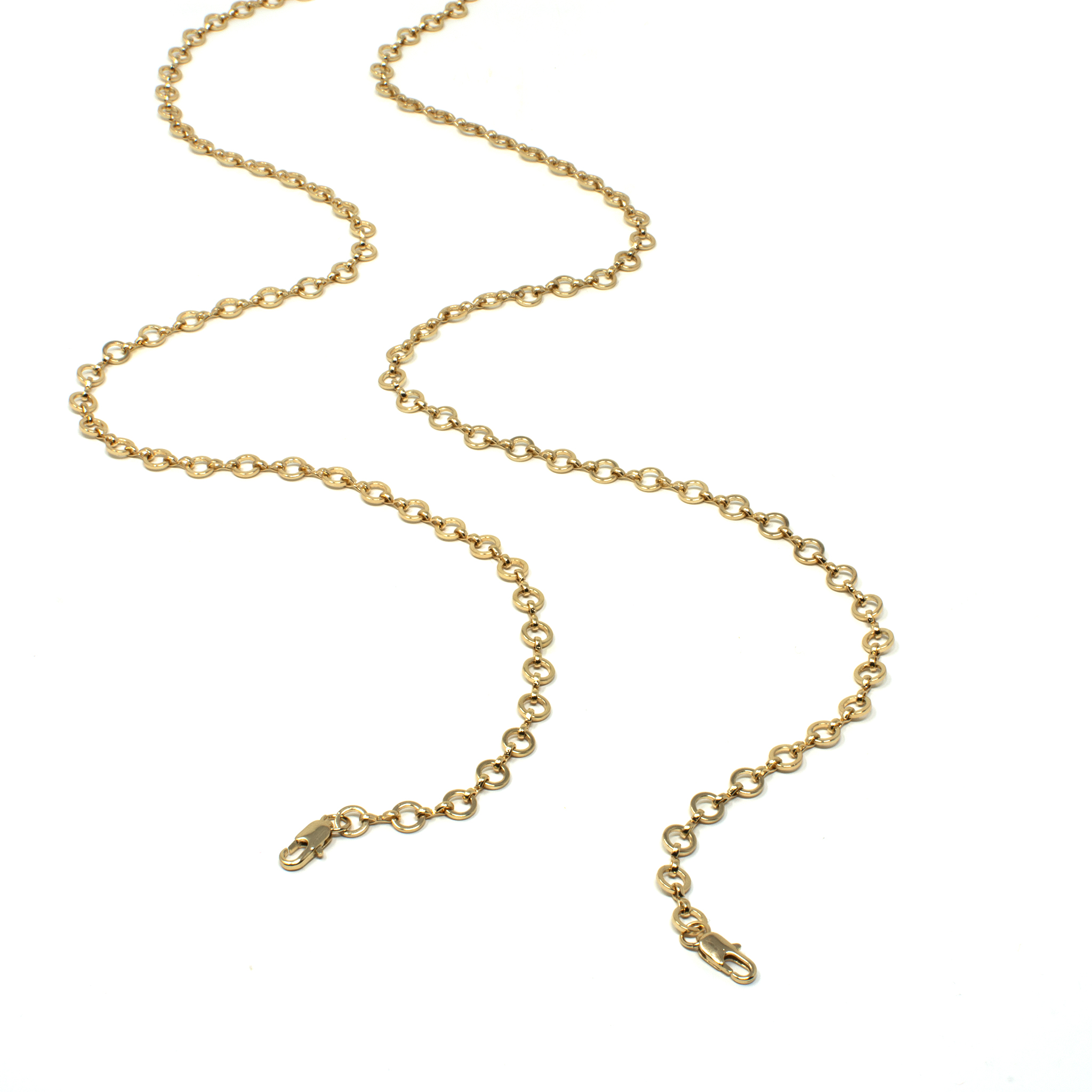 Link chain - Gold by Neon Hope on curated-crowd.com