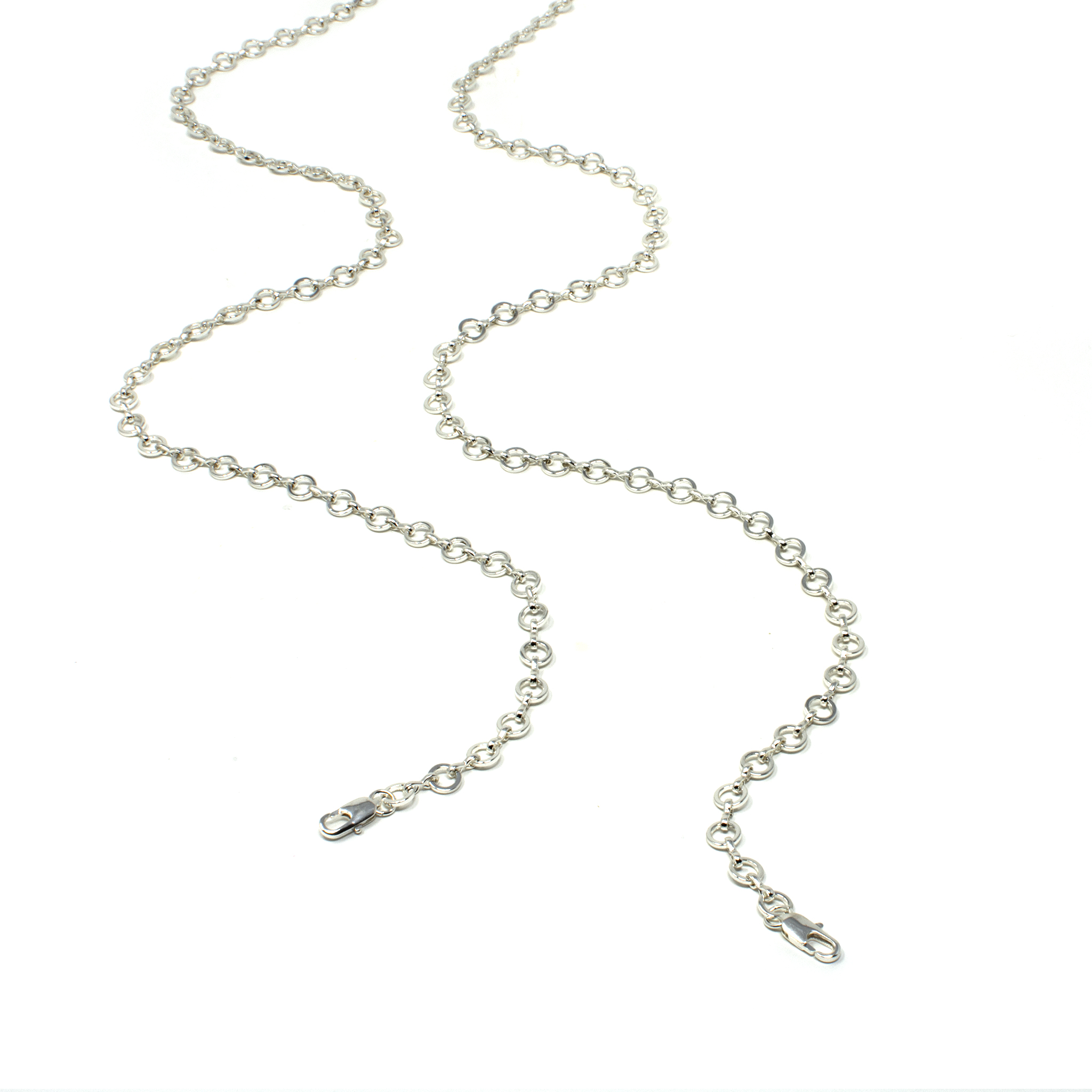 Link chain - Silver by Neon Hope on curated-crowd.com