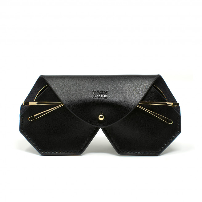 Leather Glasses Case by Neon Hope on curated-crowd.com