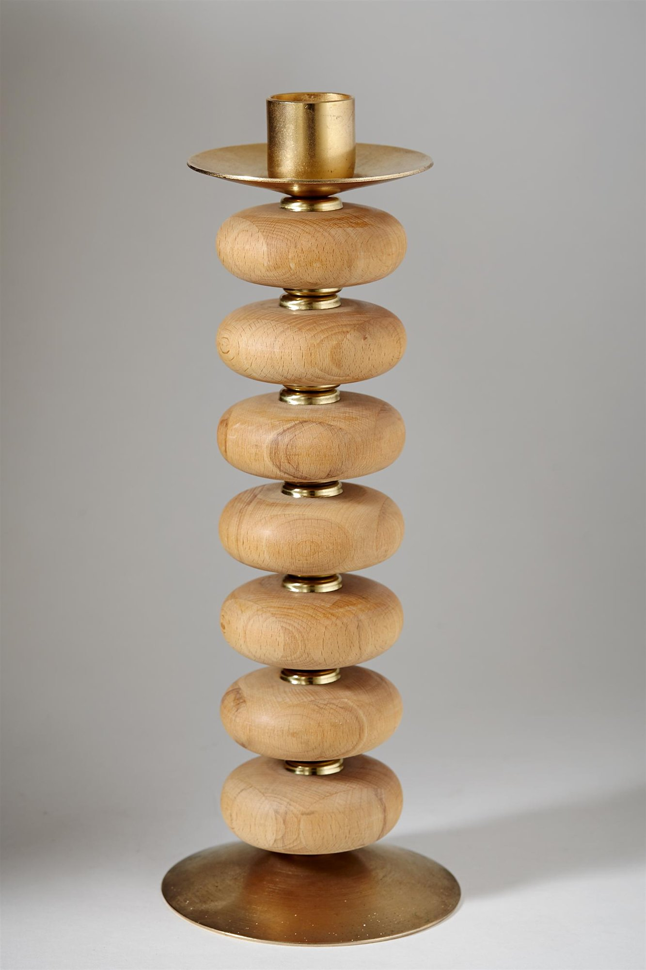 Candlestick, designed by Erik Höglund for Boda, Sweden. 1960's. by Modernity on curated-crowd.com