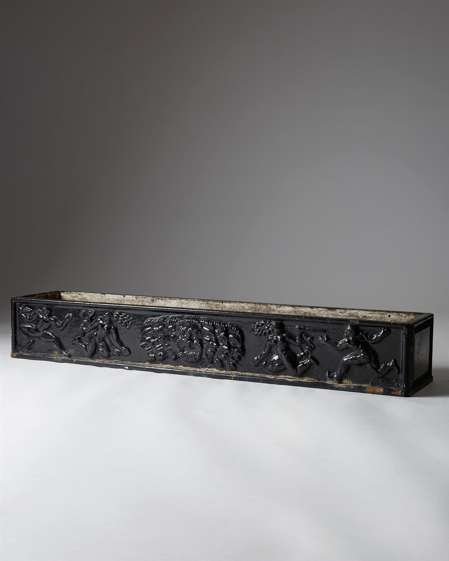 Planter No 2, designed by Anna Petrus for Näfveqvarn, Sweden, 1925. by Modernity on curated-crowd.com