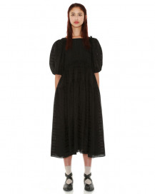 Checked Midi Dress by Teija on curated-crowd.com