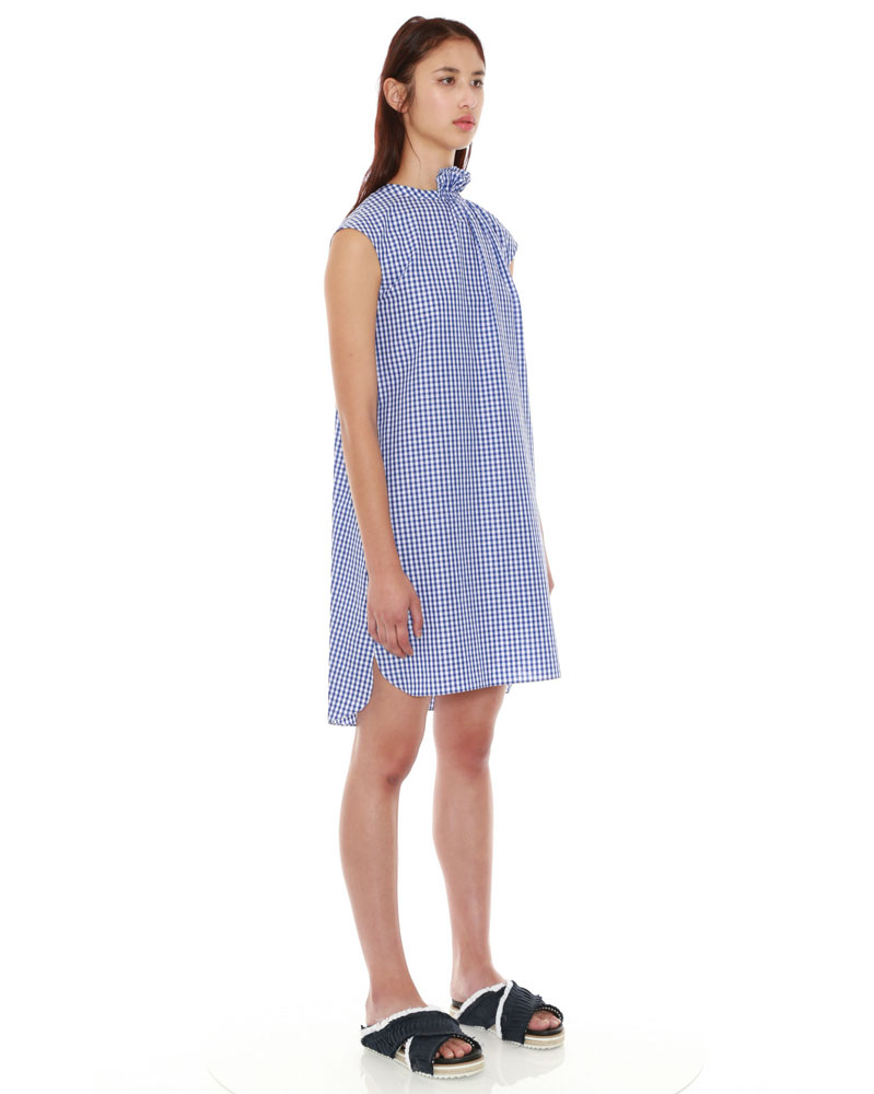Gingham Check Dress by Teija on curated-crowd.com