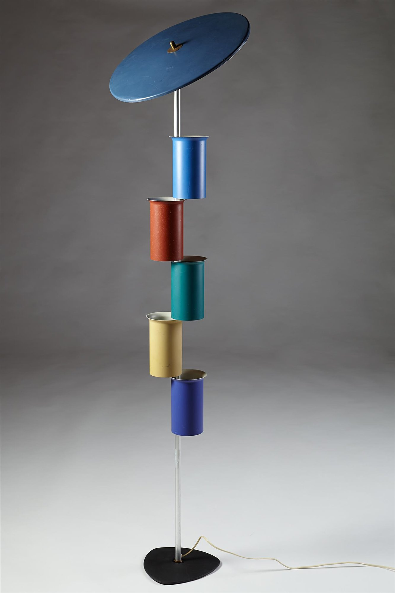 Floor Lamp attributed to Simon Henningsen for Lyfa, Denmark. 1950's. by Modernity on curated-crowd.com