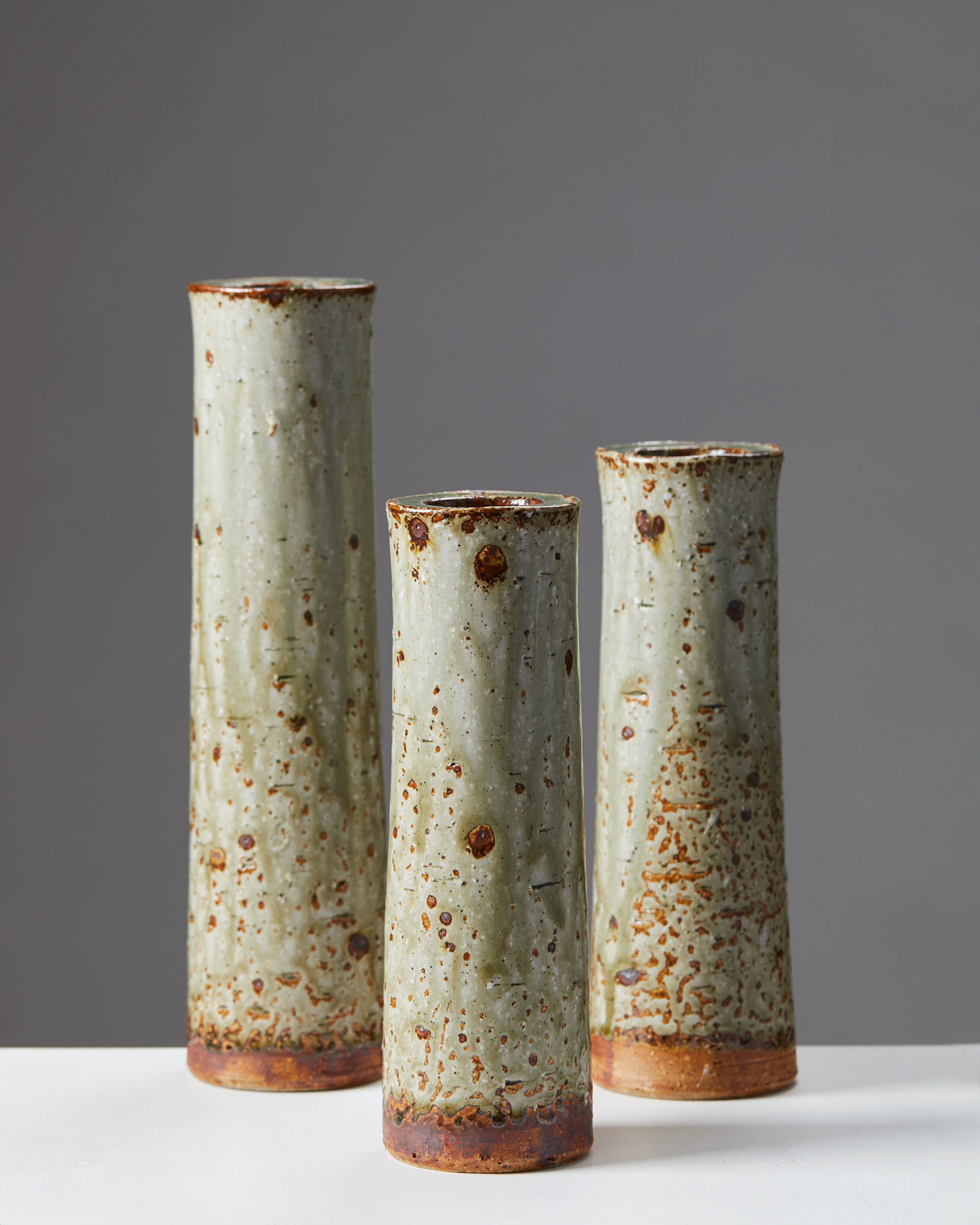 Vases, designed by Marianne Westman for Rörstrand, Sweden, 1960's. by Modernity on curated-crowd.com