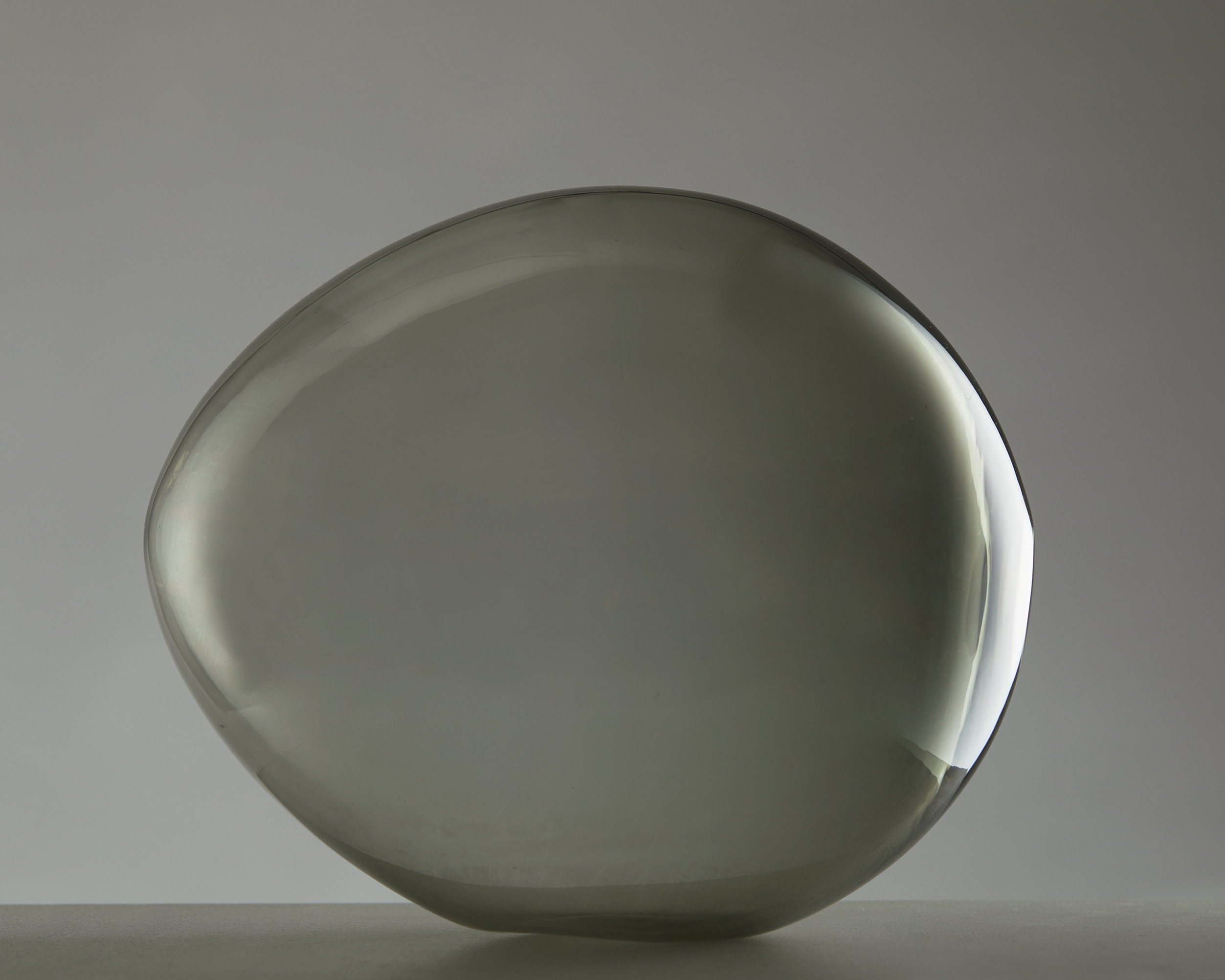 Glass Sculpture by Ingeborg Lundin for Orrefors, Sweden. 1950's. by Modernity on curated-crowd.com