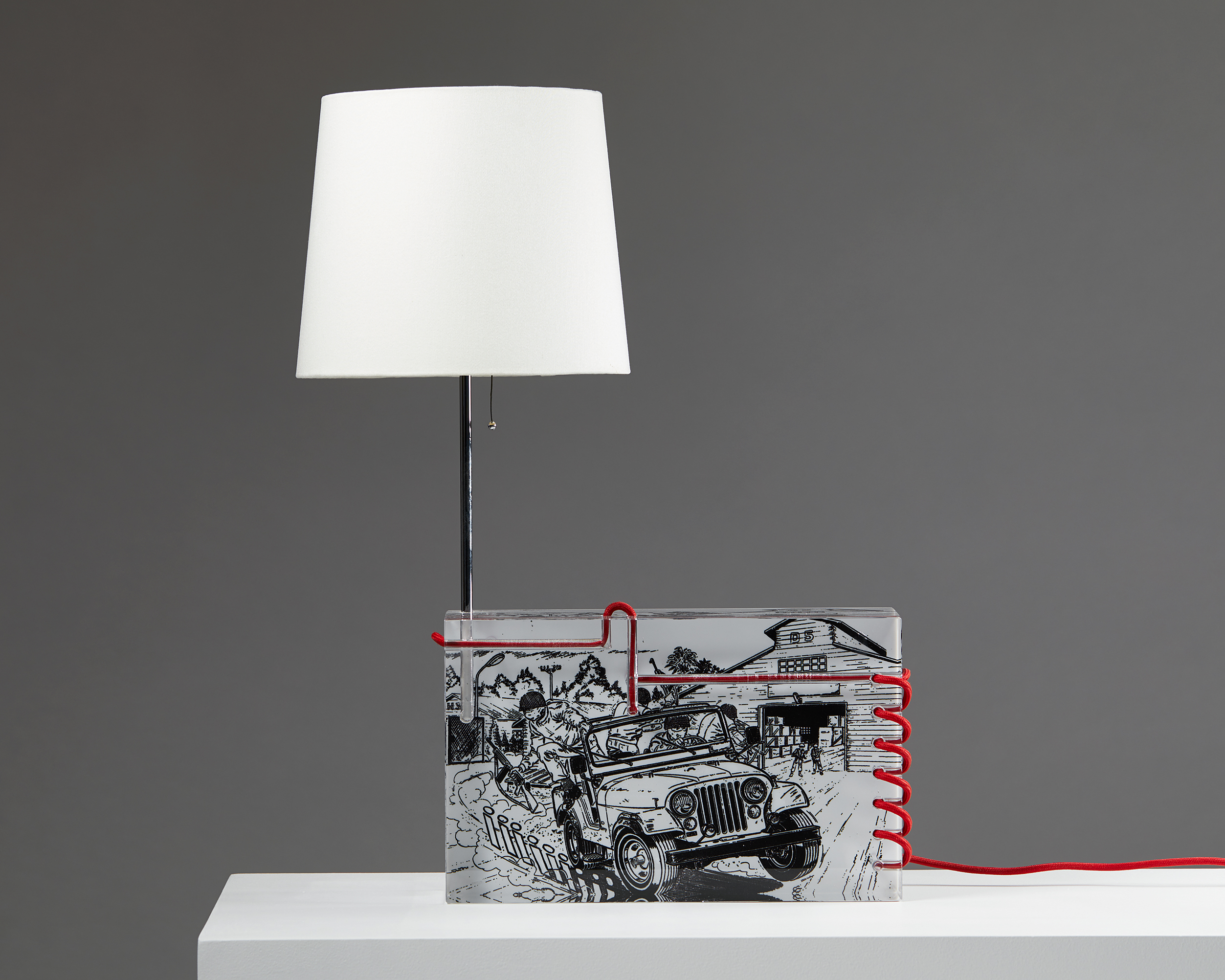 Table Lamp designed by Per B. Sundberg for Orrefors, Sweden. 2004. by Modernity on curated-crowd.com