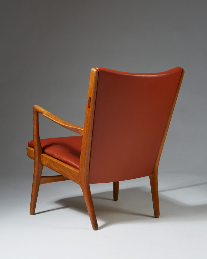 Armchair model AP16 designed by Hans Wegner for AP Stolen, Denmark, 1950's. by Modernity on curated-crowd.com