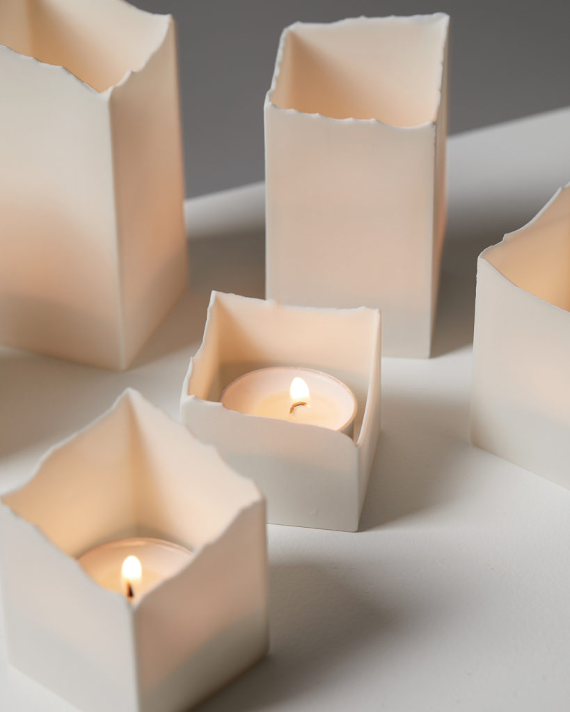 Tea Light Holders, made by Eszter Imre, Sweden, 2013. by Modernity on curated-crowd.com