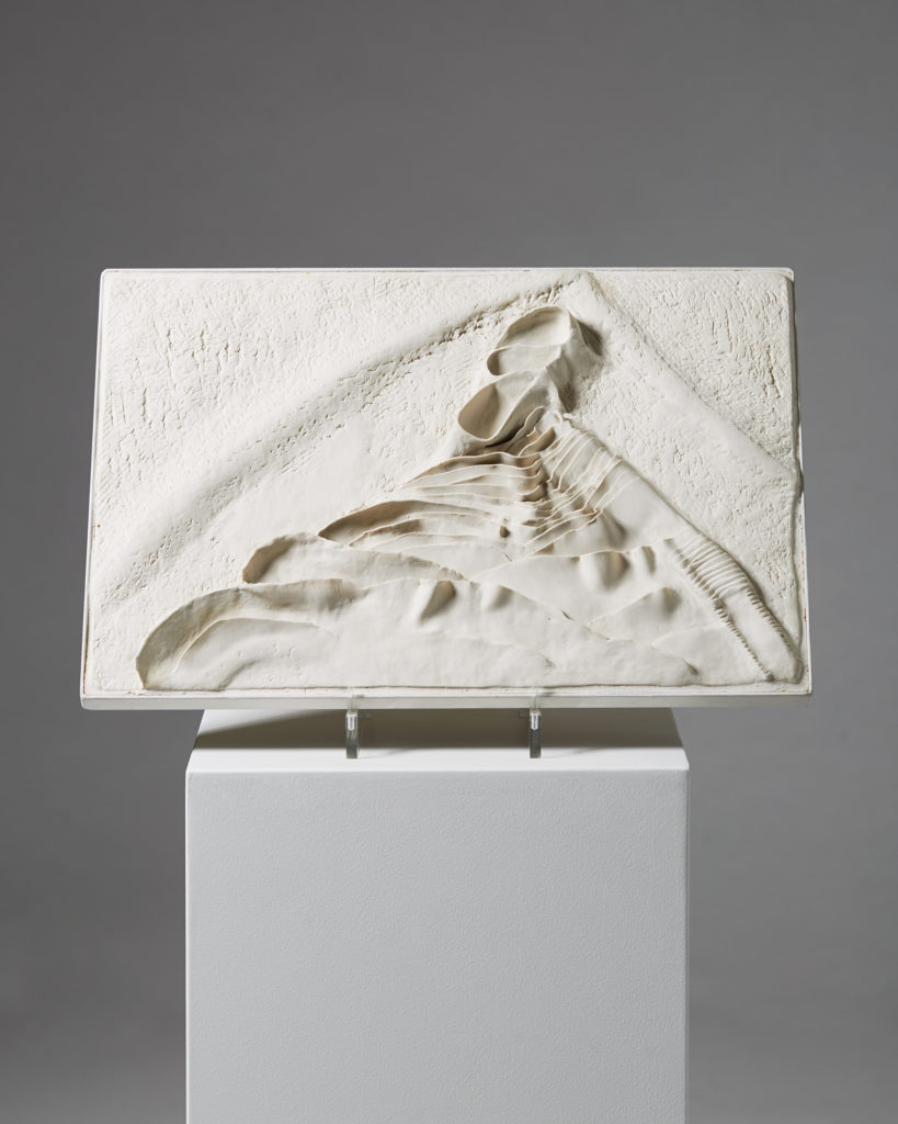 Relief made by Tove Anderberg, Denmark. 1980's. by Modernity on curated-crowd.com