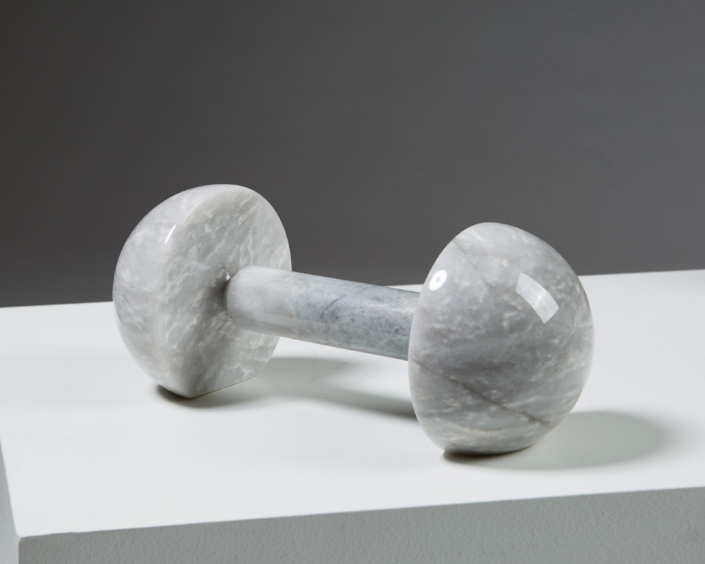 Set of Four Objects, Sculpture Weightlifter designed by Alexander Lervik, Sweden. 2017. by Modernity on curated-crowd.com