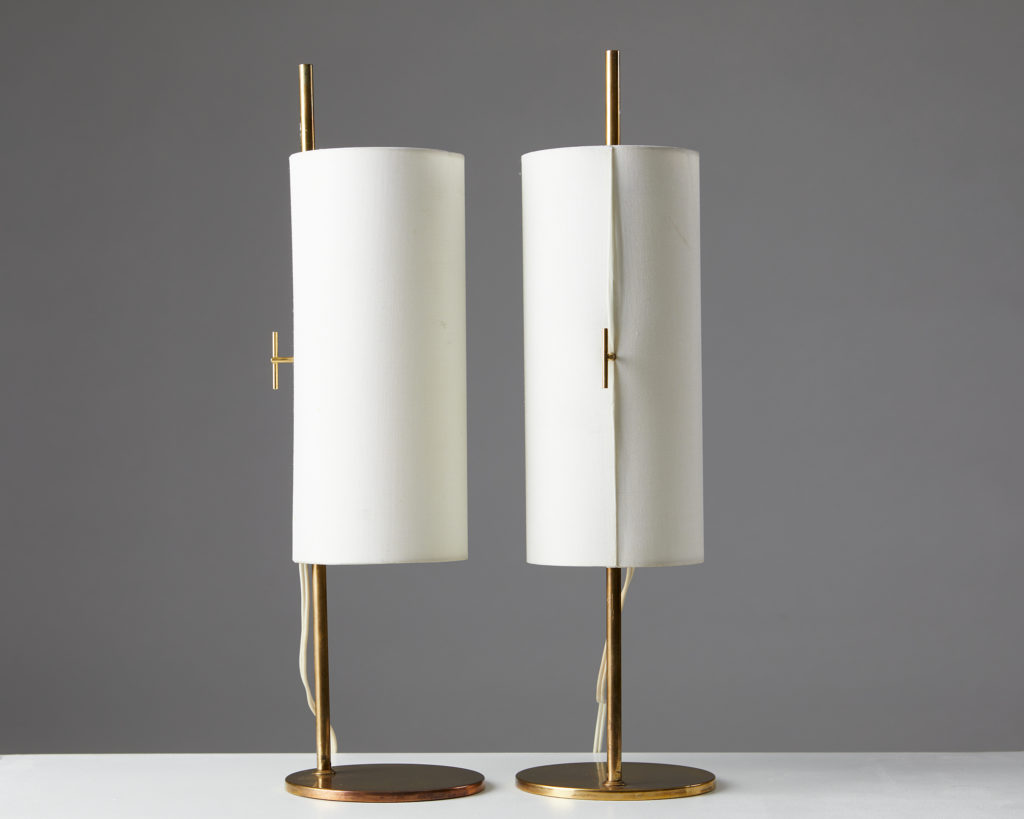 Pair of Table Lamps, Anonymous, Denmark. 1950/60's. by Modernity on curated-crowd.com