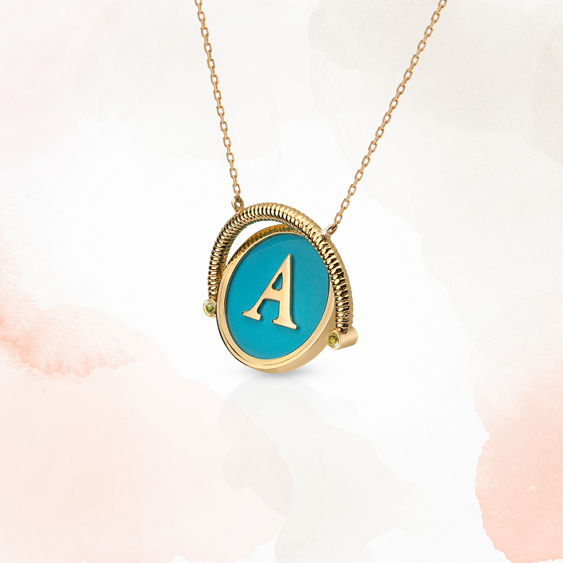 Vega Necklace - 18K Gold by Aveen on curated-crowd.com