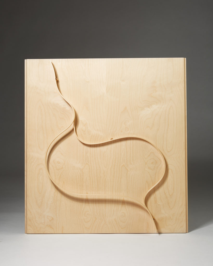 Wall Relief designed by Alvar Aalto for Huonekalutehdas Korhonen, Finland. 1950's. by Modernity on curated-crowd.com