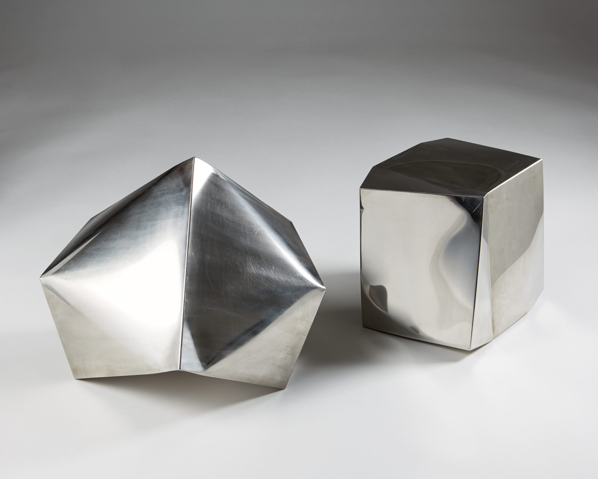 Pair of Sculptures Untitled by Ib Agger, Denmark. 2006. by Modernity on curated-crowd.com