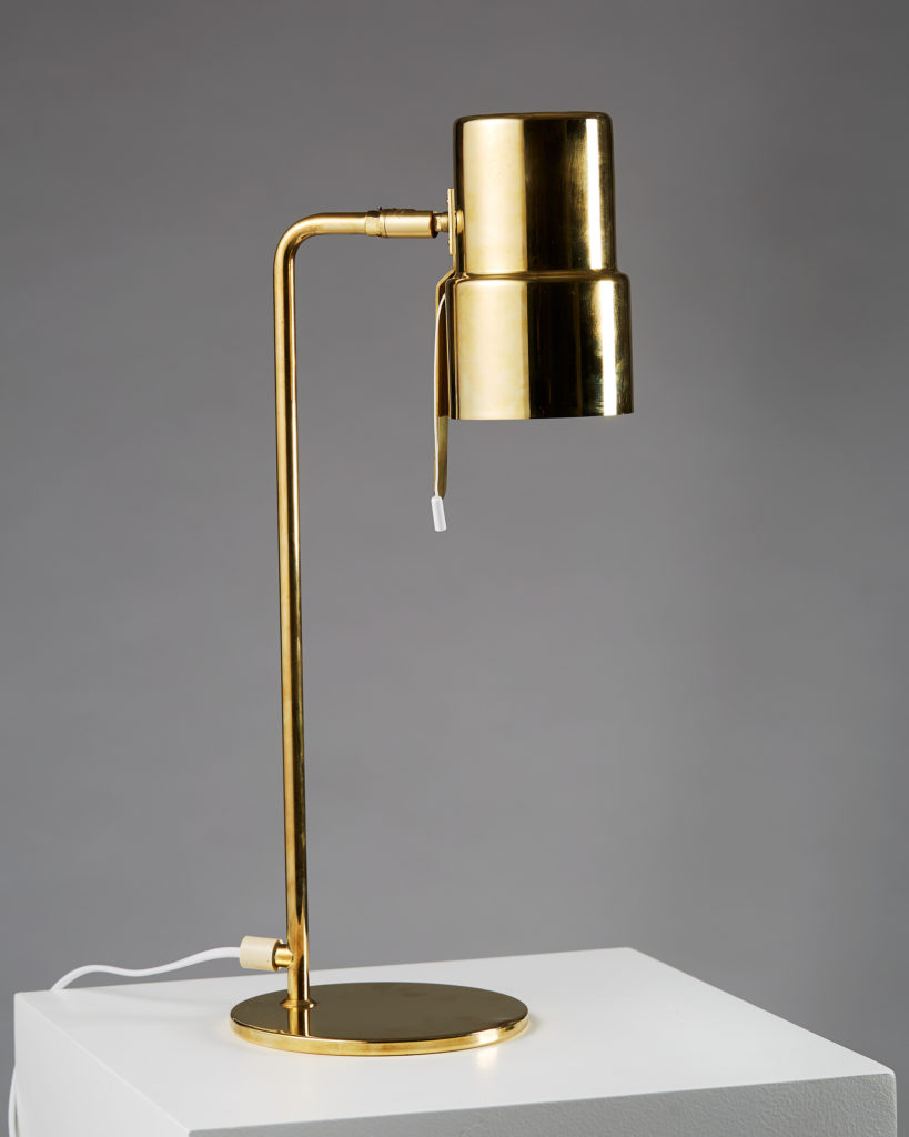 Table Lamp designed by Hans-Agne Jakobsson, Sweden. 1950's. by Modernity on curated-crowd.com