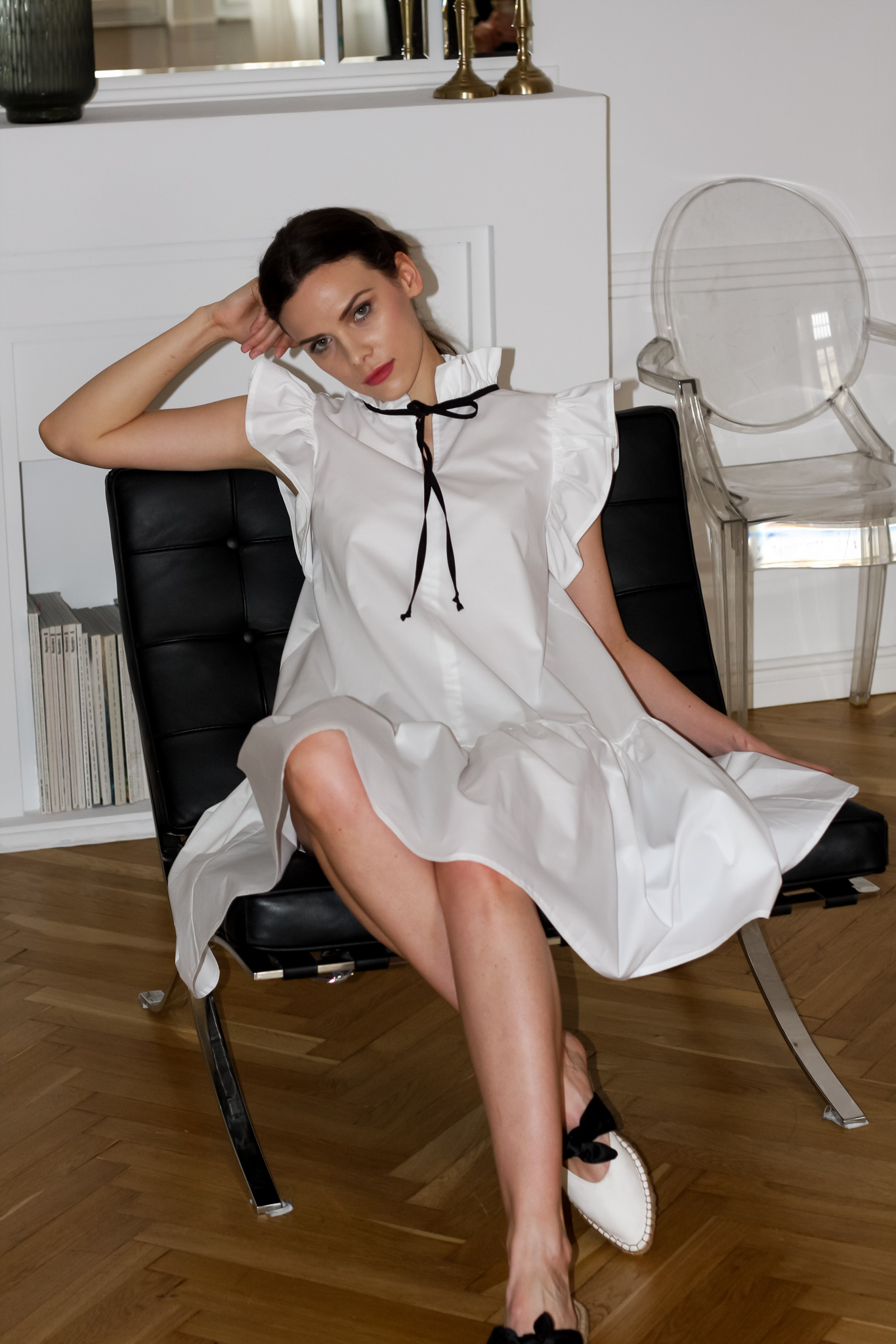 Angela Dress by Monica Nera on curated-crowd.com