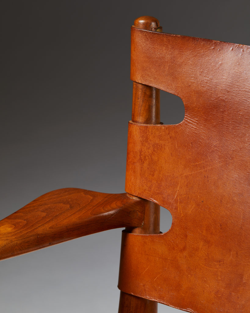 Armchair, Anonymous, Sweden. 1950's. by Modernity on curated-crowd.com