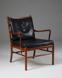 "Armchair PJ 149, ""Colonial"", designed by Ole Wanscher for P. Jeppesen, Denmark. 1949. by Modernity on curated-crowd.com"