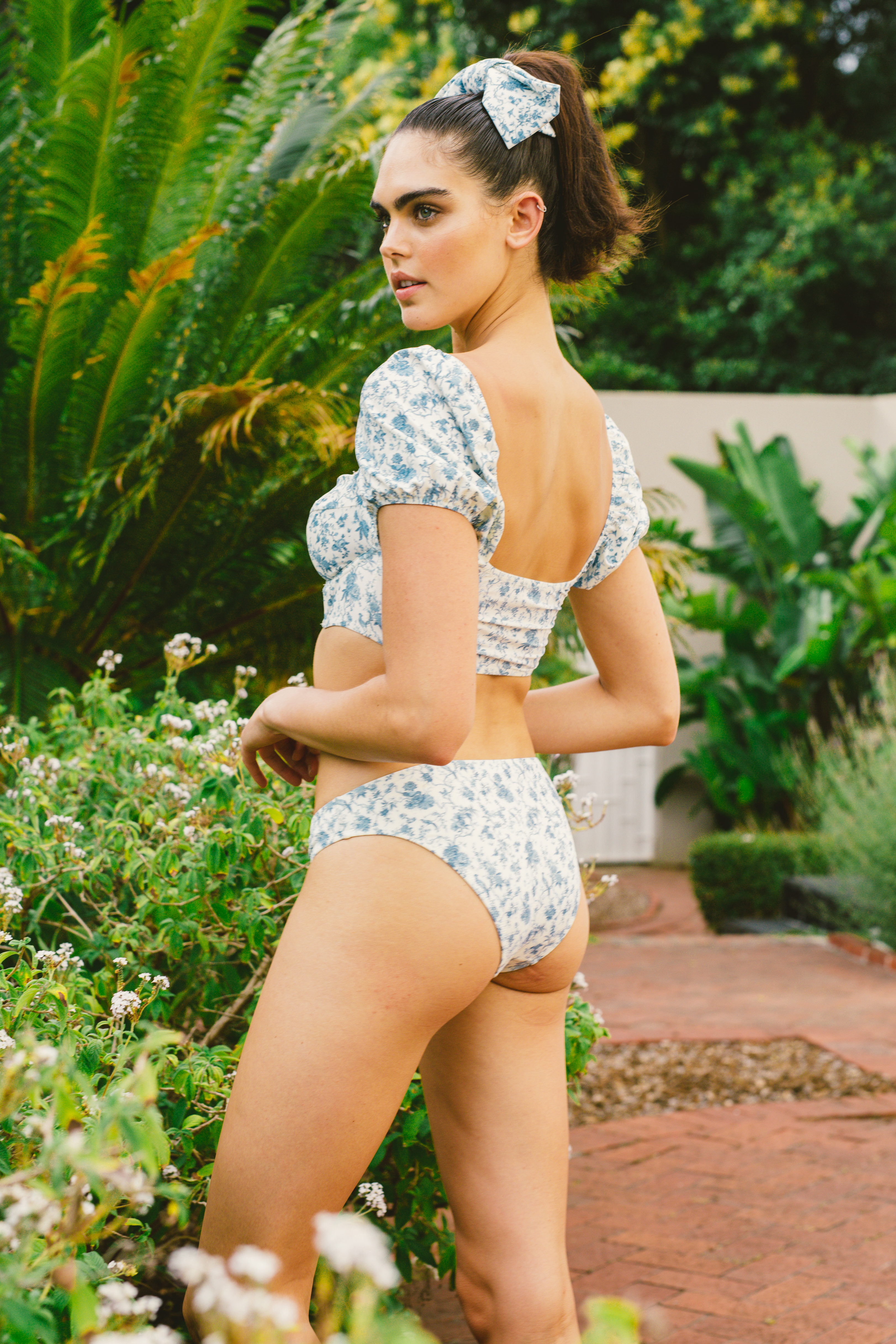 Low Rise Bikini Brief - Bloom by Holiday Romance on curated-crowd.com