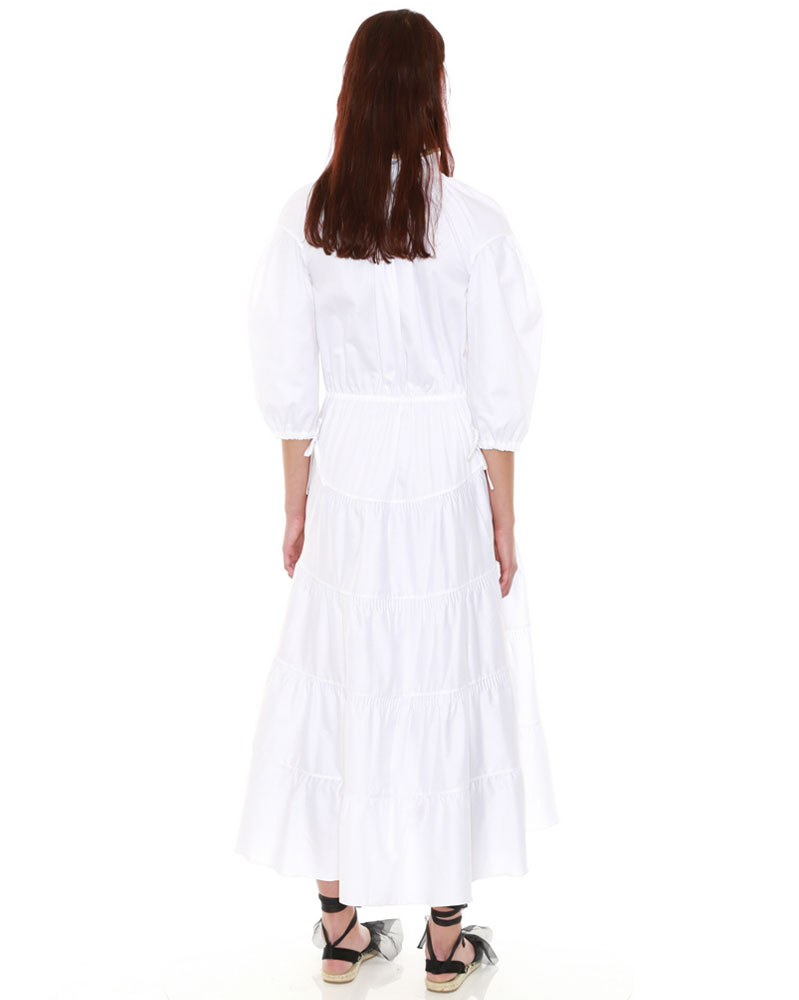 White Maxi Dress by Teija on curated-crowd.com