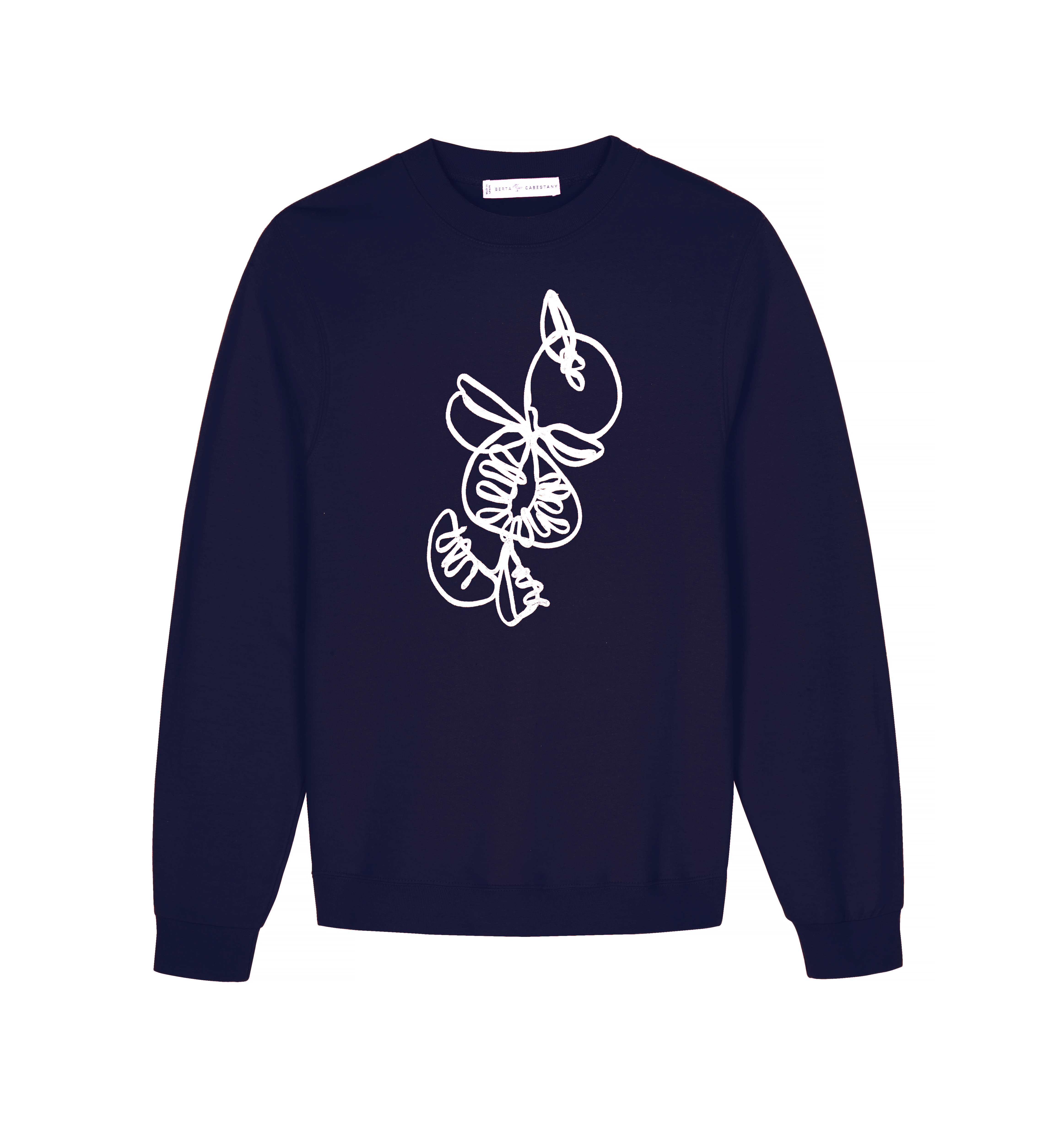 Calabaza Sweat - Blue by Berta Cabestany on curated-crowd.com