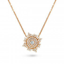 Petite Tsarina Rose Necklace by Nadine Aysoy on curated-crowd.com