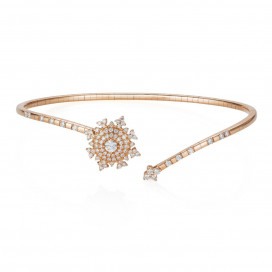 Petite Tsarina Rose Bracelet by Nadine Aysoy on curated-crowd.com