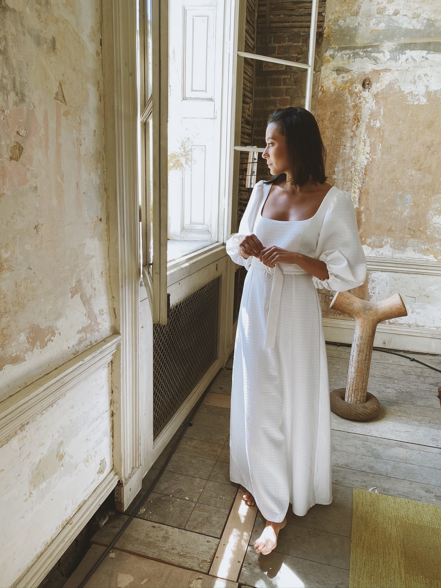 River Dress - White by Jessica K on curated-crowd.com