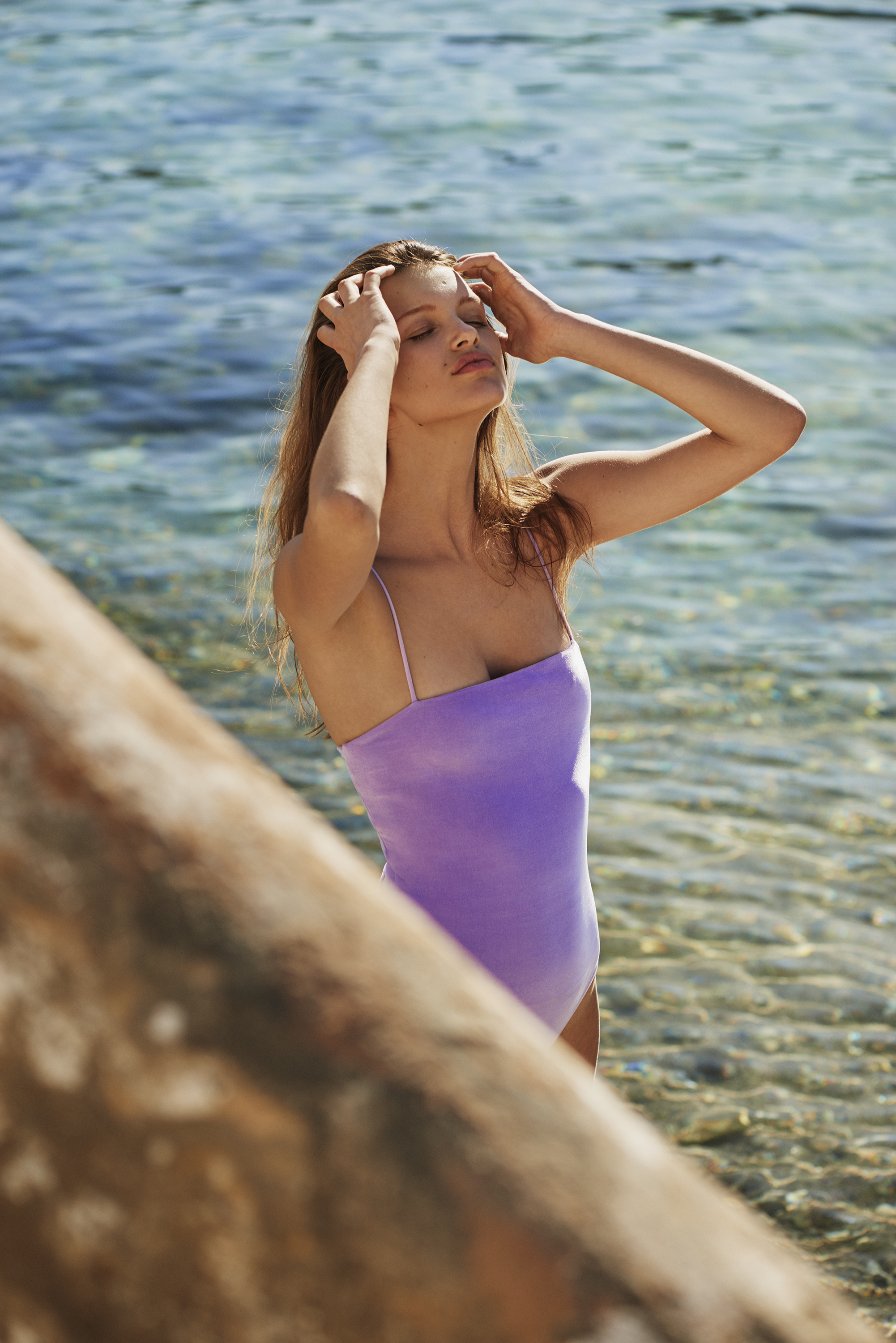 Sting Ray Swimsuit by PAPER London on curated-crowd.com