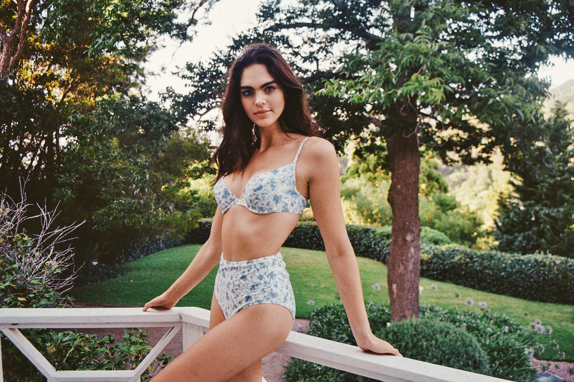 Elle Bikini Top - Bloom by Holiday Romance on curated-crowd.com