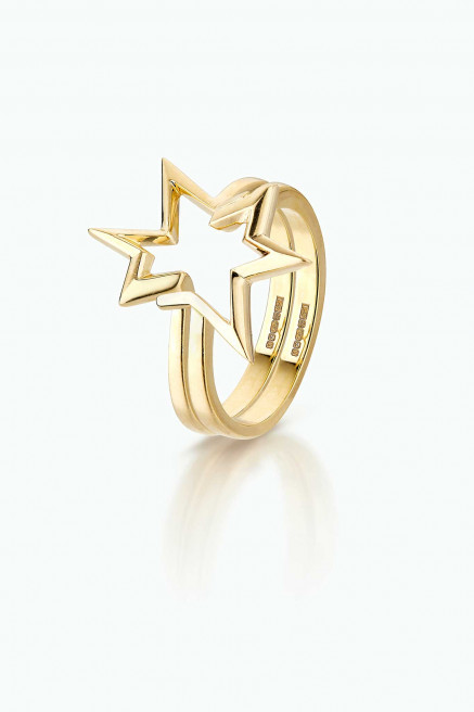 Titanium Salute Double Stacking Ring by LeSter on curated-crowd.com