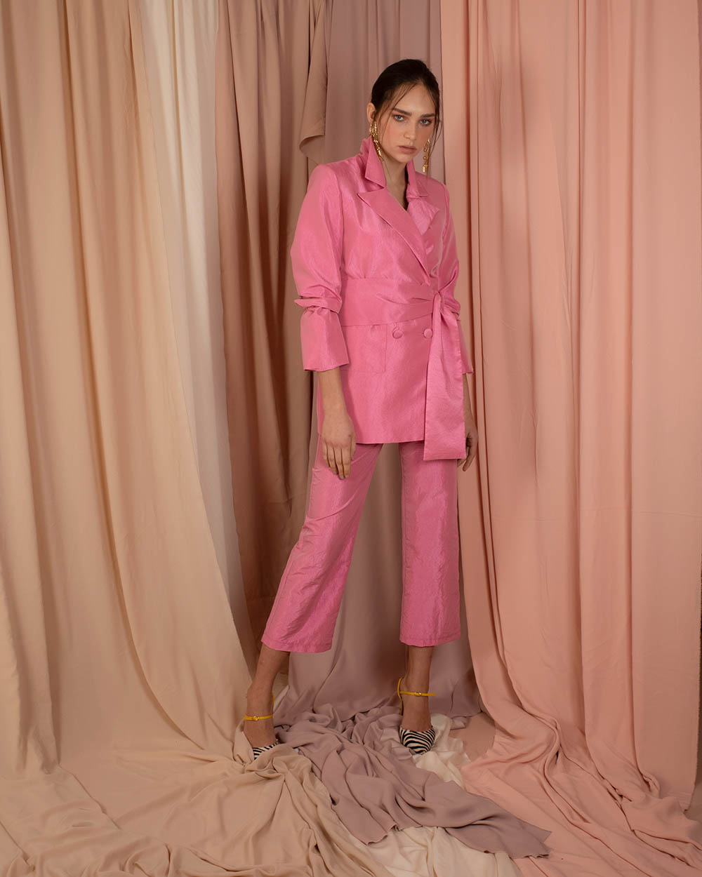 Holy Pants - Pink by Jessica K on curated-crowd.com