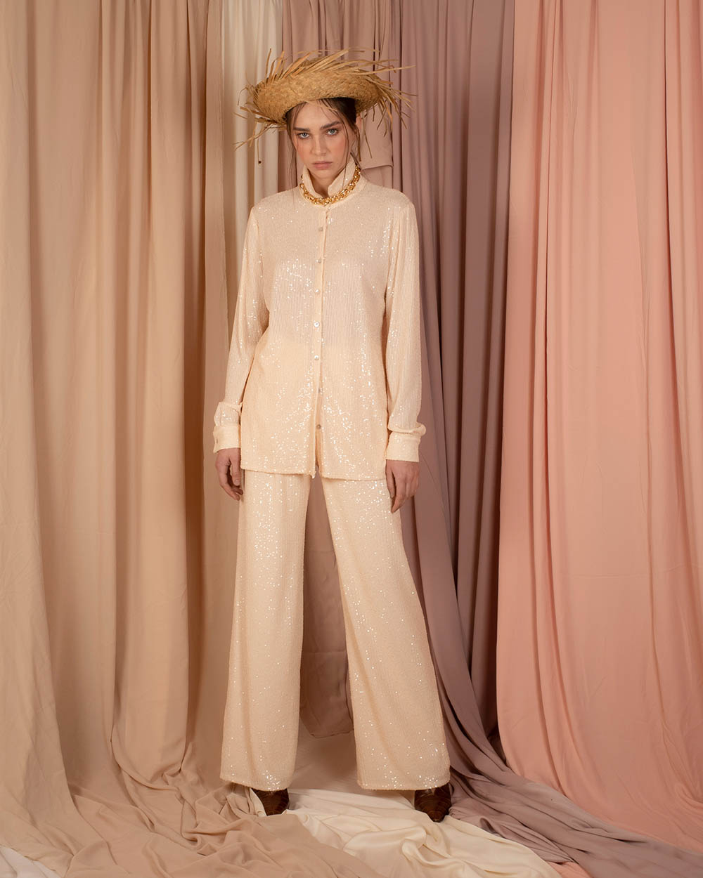 Dawn Pants - Beige by Jessica K on curated-crowd.com
