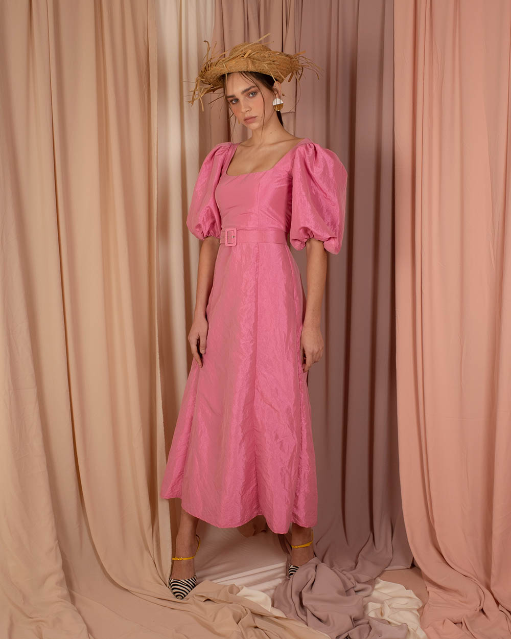 River Dress - Pink by Jessica K on curated-crowd.com