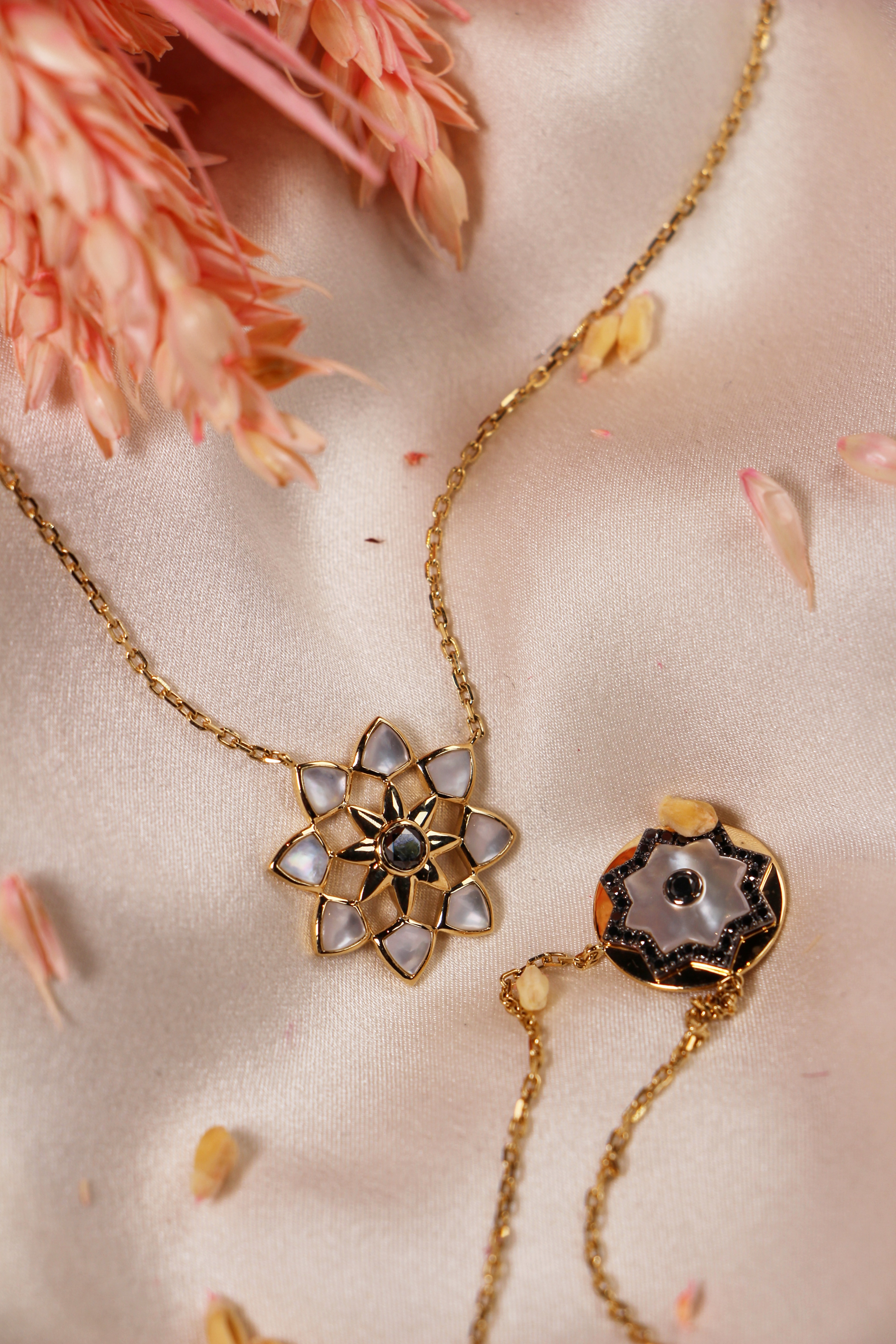 White Orient Necklace by Amira Karaouli on curated-crowd.com