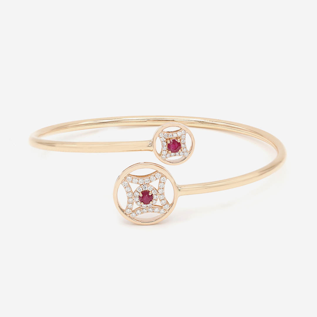 The Royal Crest Bangle by Amira Karaouli on curated-crowd.com