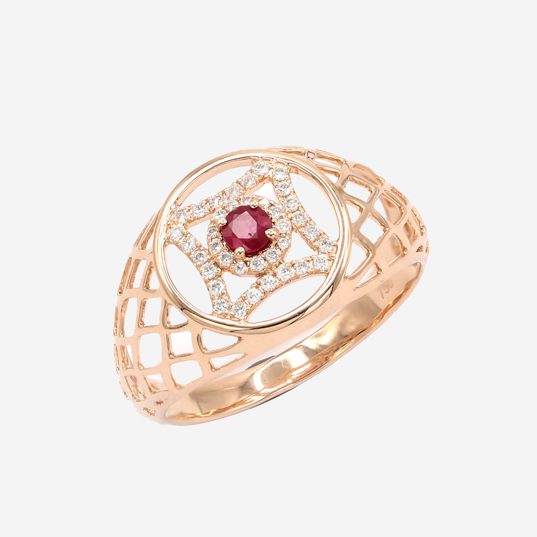 The Royal Crest Ring by Amira Karaouli on curated-crowd.com