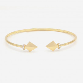 Warrior Princess Bangle by Amira Karaouli on curated-crowd.com