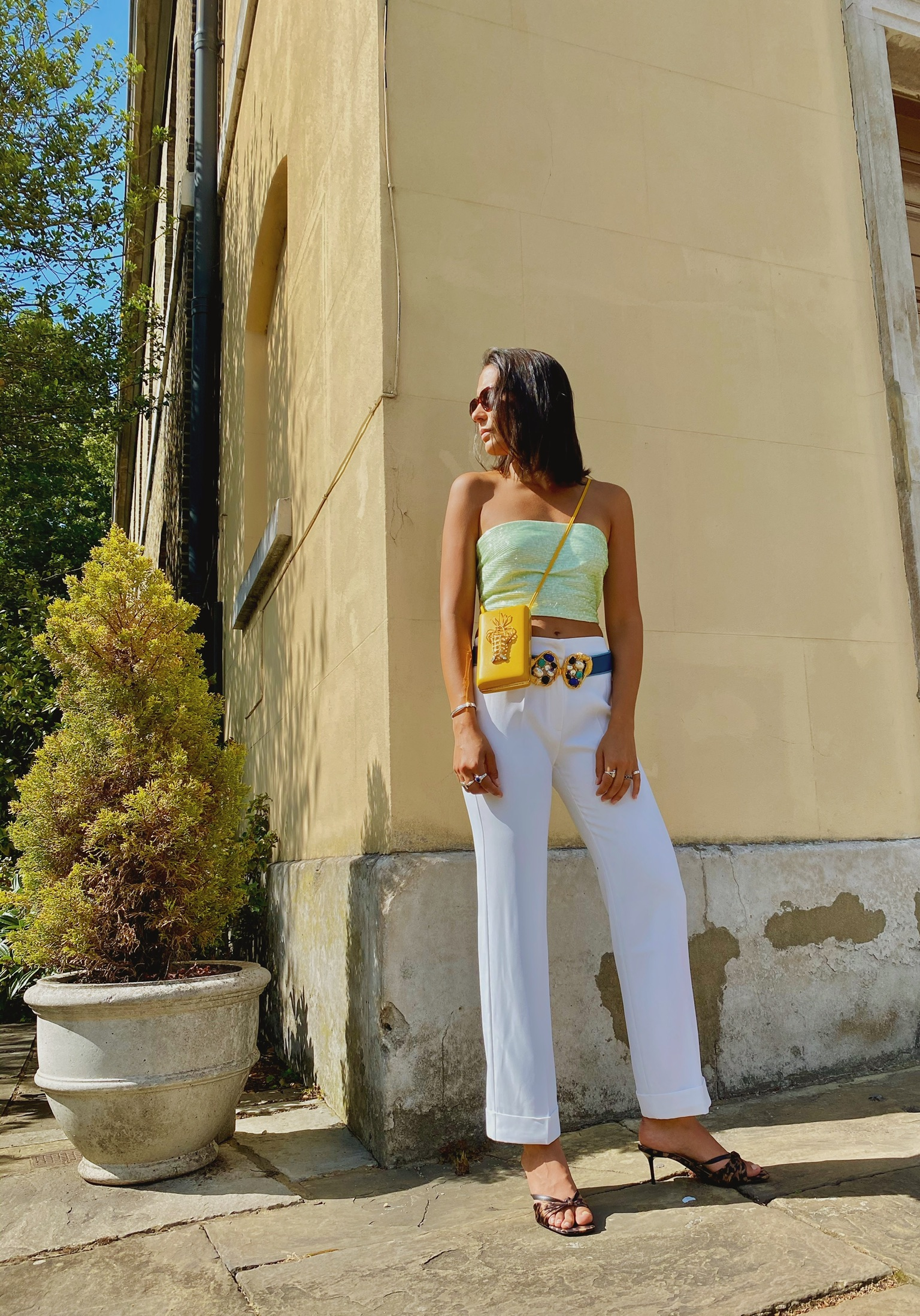 Yellow Lobster Luxury Handbag by Sonia Petroff on curated-crowd.com