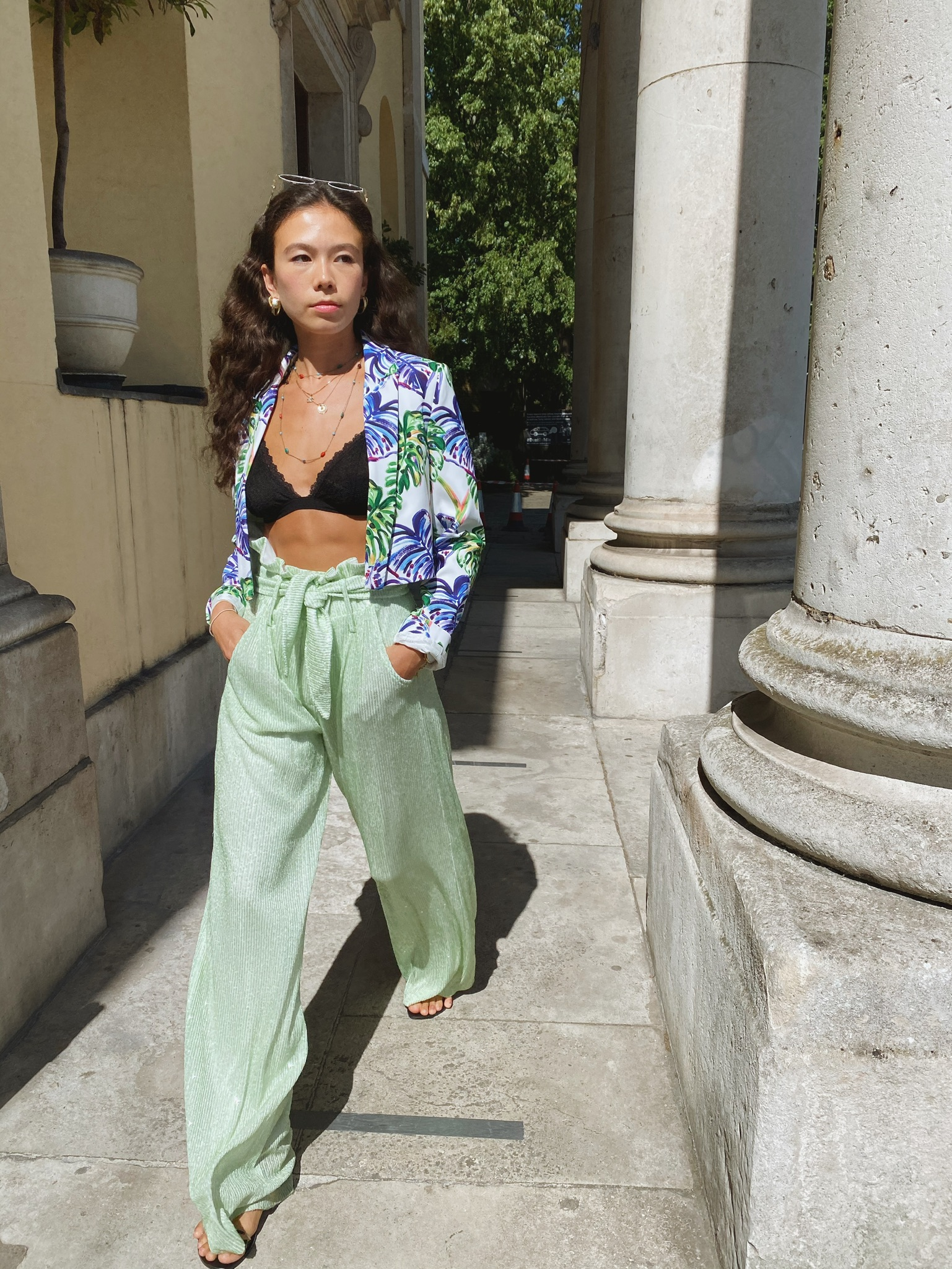 Iggy Pants - Sequins Mint by Jessica K on curated-crowd.com