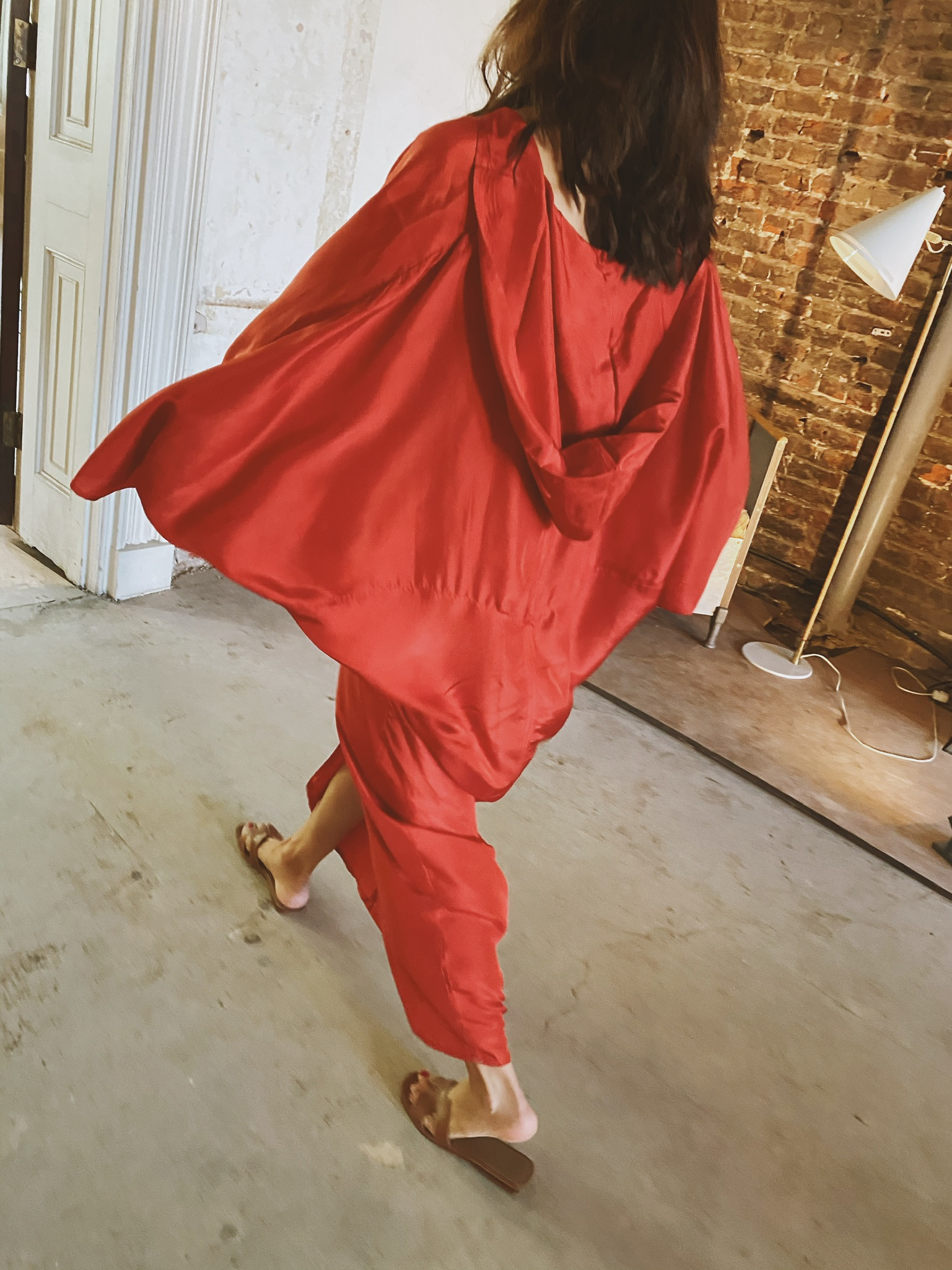 Essaouira Silk Dress by A Perfect Nomad on curated-crowd.com