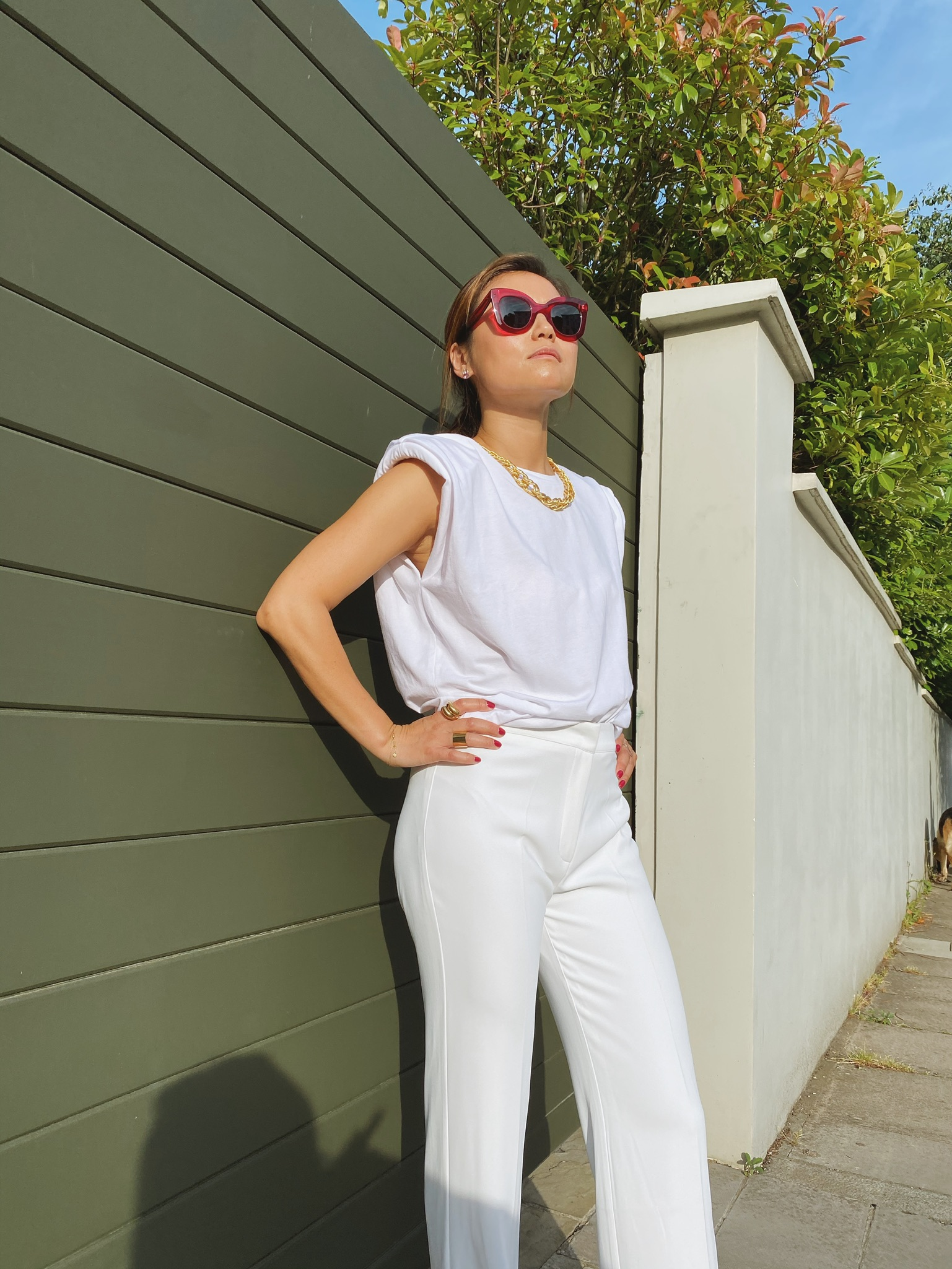 Golden Billie Top by Manurí on curated-crowd.com